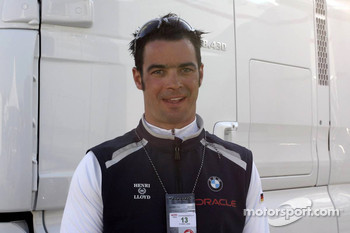 Tony Kolb, sailor of the BMW Oracle Team