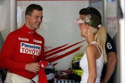 Ralf Schumacher with wife Cora Schumacher