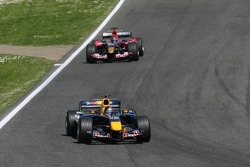 Christian Klien leads Scott Speed