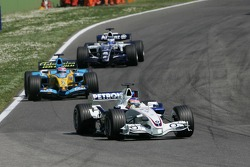 Jacques Villeneuve leads Giancarlo Fisichella