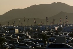 Parking at PIR