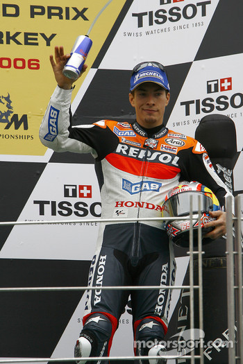 Podium: Nicky Hayden
