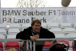 Visit of BMW Sauber F1 team Pitlane Park: Norbert Haug