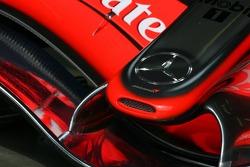 McLaren Mercedes nose cone