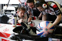 Jenson Button and Anthony Davidson