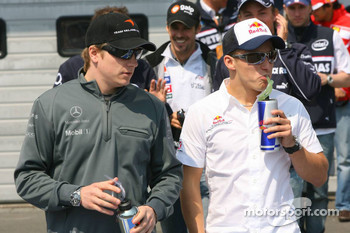Nick Heidfeld and Christian Klien