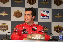 Sam Hornish Jr., fastest of the day