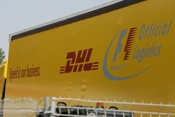 DHL Official logistics supplier to Formula 1