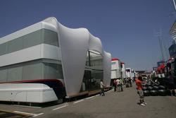 BMW-Sauber F1 Team motorhome