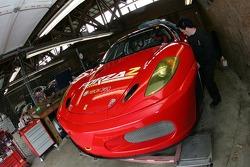 Risi Competizione garage area