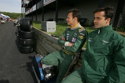 Stéphane Sarrazin and Pedro Lamy