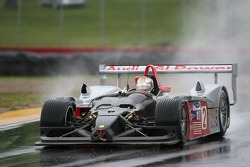 #2 Audi Sport North America Audi R8: Rinaldo Capello, Allan McNish in trouble on the first lap of the warmup session