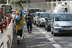 Formula 1 fans begin to gather Monaco