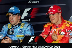 FIA press conference: Fernando Alonso and Michael Schumacher