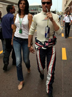 David Coulthard and girlfriend Caren Minier
