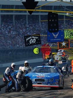 Kenny Schrader pitstop