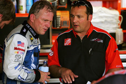 Ricky Rudd with Greg Zipadelli
