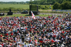 Fans watch England play in the World Cup