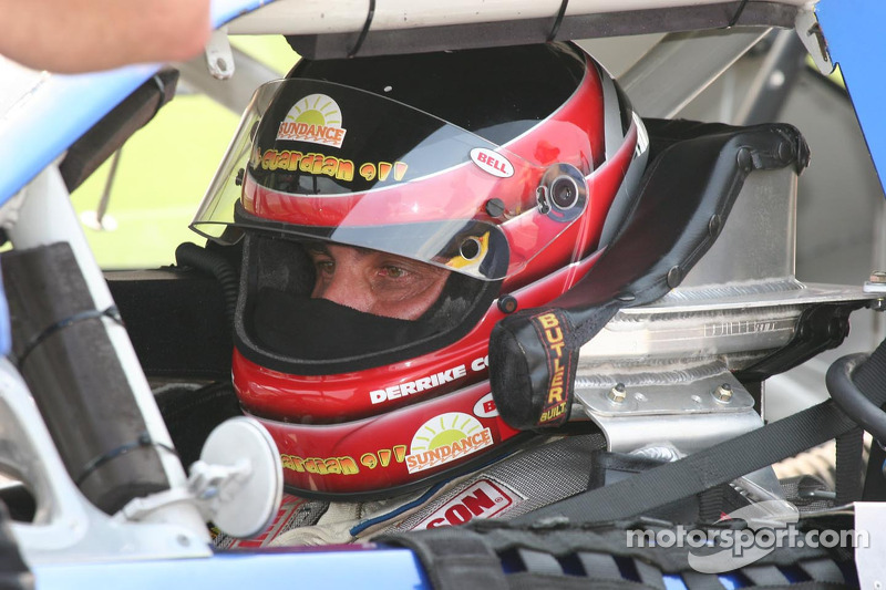Derrick Cope concentrates on qualifying