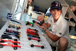 Red Bull chilled Thursday: Scott Speed and the Pinewood-Derby