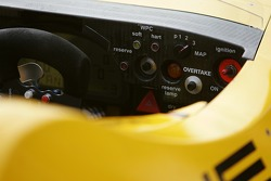 Detail of the Penske Motorsports Porsche RS Spyder panel board