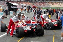 Ralf Schumacher and Jarno Trulli