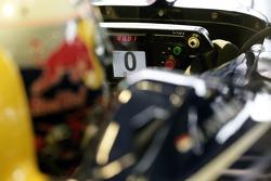 Steering wheel of Christian Klien
