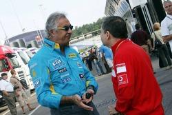 Flavio Briatore and Jean Todt