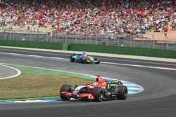 Tiago Monteiro and Fernando Alonso