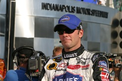 Race winner Jimmie Johnson