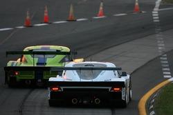 #76 Krohn Racing Ford Riley: Jorg Bergmeister, Colin Braun, #8 Synergy Racing Porsche Doran: Boris Said, Patrick Huisman