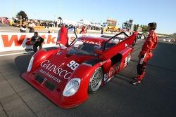 #99 Gainsco/ Blackhawk Racing Pontiac Riley: Jon Fogarty, Alex Gurney on the starting grid