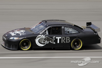 Bill Elliott tests the Red Bull Toyota Camry