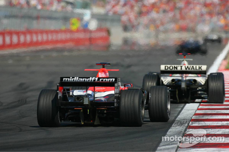 Christijan Albers and Rubens Barrichello