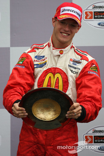 Podium: race winner Sébastien Bourdais