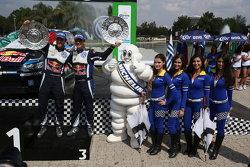 Third place Andreas Mikkelsen and Ola Floene, Volkswagen Polo WRC, Volkswagen Motorsport