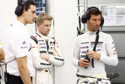 Nico Hulkenberg and Mark Webber, Porsche Team