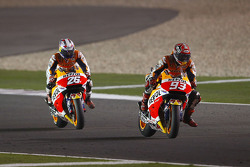 MotoGP 2015 Motogp-qatar-gp-2015-marc-marquez-and-dani-pedrosa-repsol-honda-team