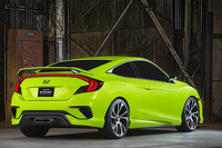 The Honda Civic concept design