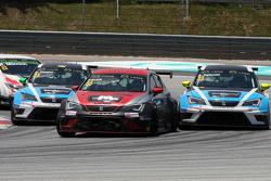 Ferenc Ficza, SEAT Leon Racer, Zengo Motorsport, Stefano Comini, SEAT Leon Racer, Target Competition, Andrea Belicchi, SEAT Leon Racer, Target Competition