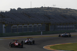 Aleksander Bosak, Arden International and Esteban Ocon, ART Grand Prix and Matthew Parry, Koiranen GP