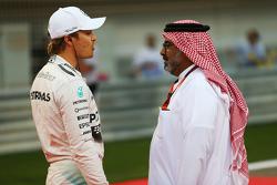 Nico Rosberg, Mercedes AMG F1 on the grid