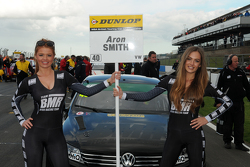 Team BMR Grid girl