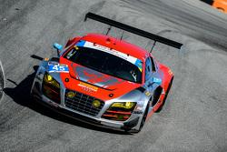 #45 Flying Lizard Motorsports Audi R8 LMS: Markus Winkelhock, Robert Thorne