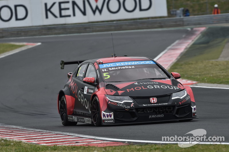 norbert michelisz honda civic wtcc zengo motorsport at. Black Bedroom Furniture Sets. Home Design Ideas