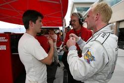 Mike Rockenfeller and Ralf Kelleners