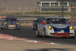 #74 Tafel Racing Porsche GT3 Cup: Eric Lux, Ian James, Jim Tafel