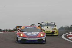#62 Scuderia Ecosse Ferrari 430 GT2: Nathan Kinch, Andrew Kirkaldy