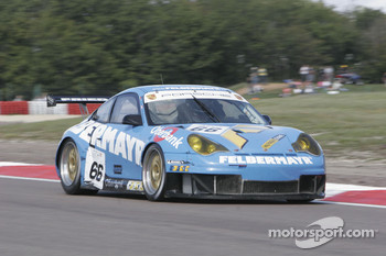 #66 Team Felbermayr-Proton Porsche 996 GT3 RSR: Christian Ried, Horst Felbermayr Jr.