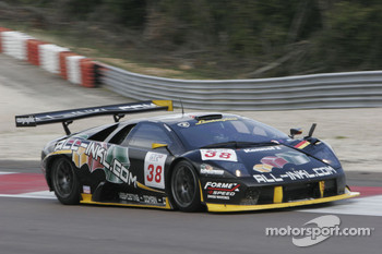 #38 All Inkl.com Racing Lamborghini Murcielago: Christophe Bouchut, Benjamin Leuenberger